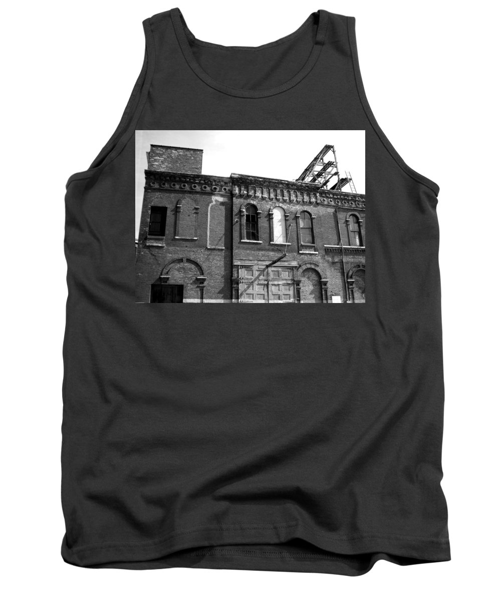 Milwaukee Tank Top featuring the photograph City Decay 1 by Anita Burgermeister