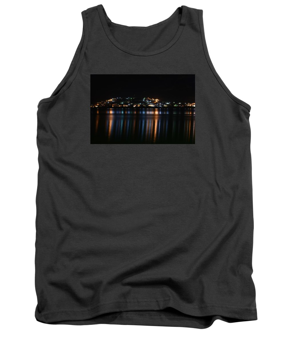 City Tank Top featuring the photograph City Lights by Dimitrios Karras