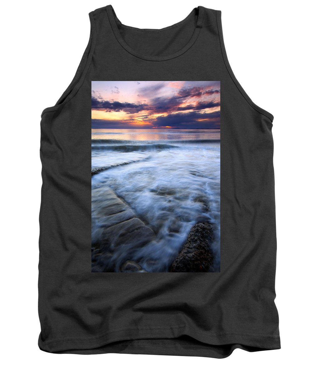 Tides Tank Top featuring the photograph Civilization Forgotten by Mike Dawson