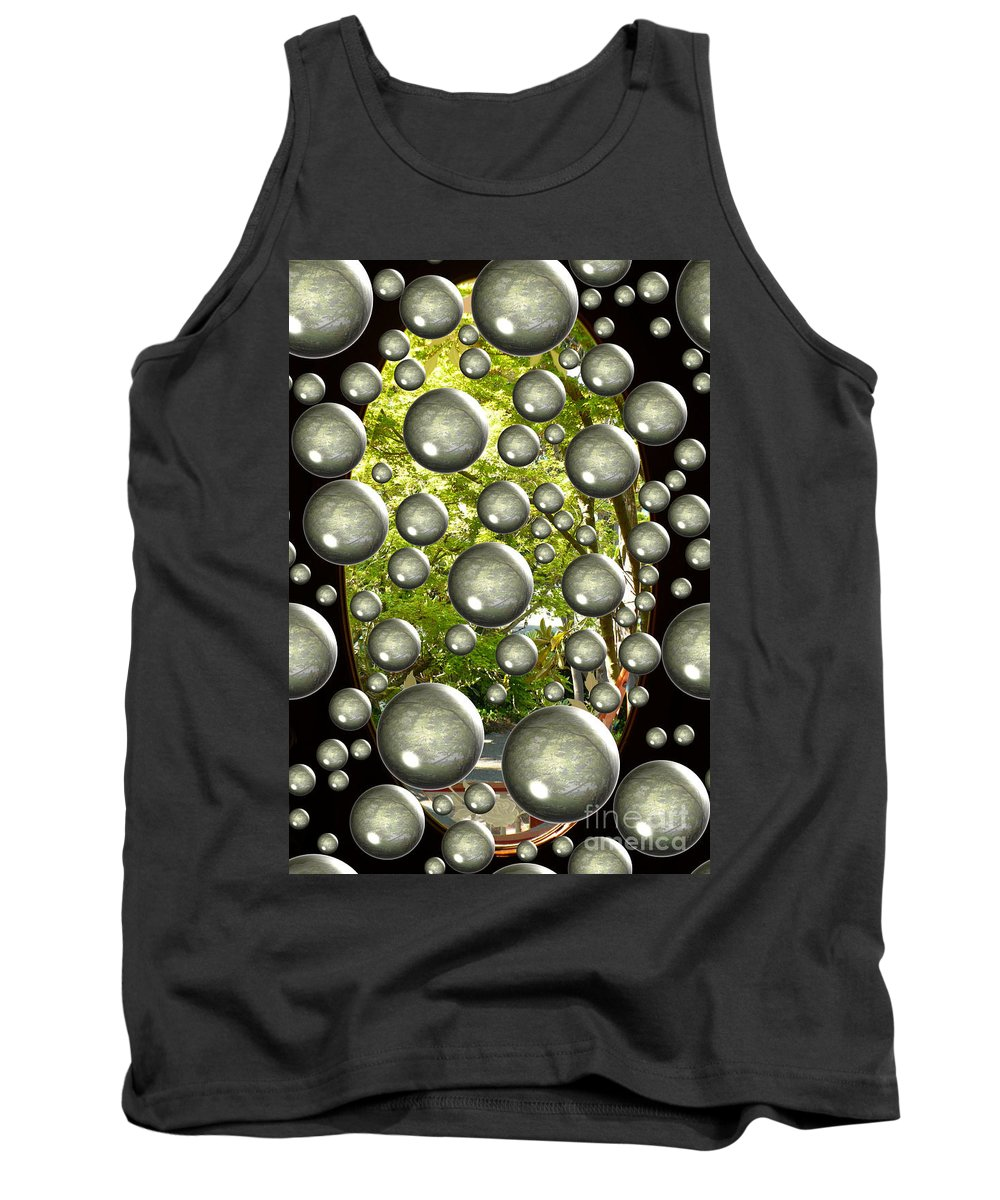 Digital Art Tank Top featuring the photograph Class Dismissed by Carol Groenen