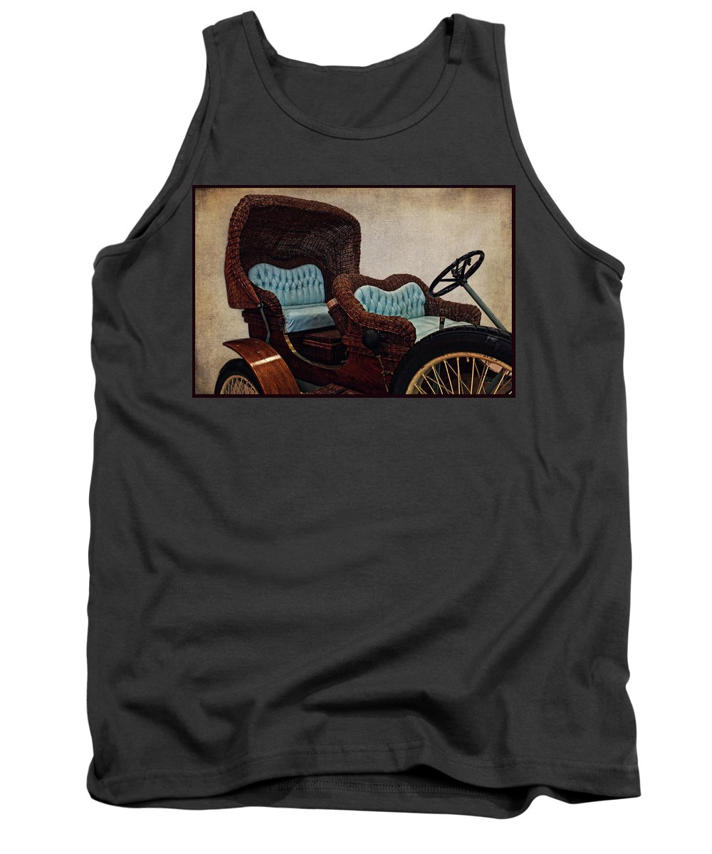 America Tank Top featuring the photograph Classic Cars 1 by Judy Vincent