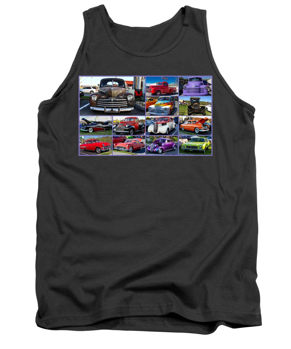 Cars Tank Top featuring the photograph Classic Cars by Robert L Jackson