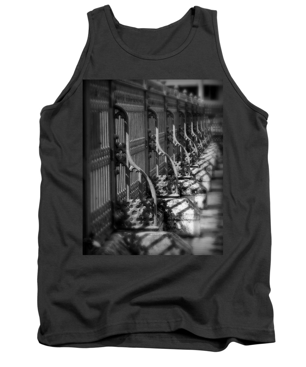 Fence Tank Top featuring the photograph Classic Fence by Perry Webster