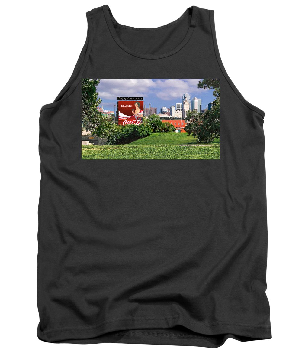 Landscape Tank Top featuring the photograph Classic Summer by Steve Karol