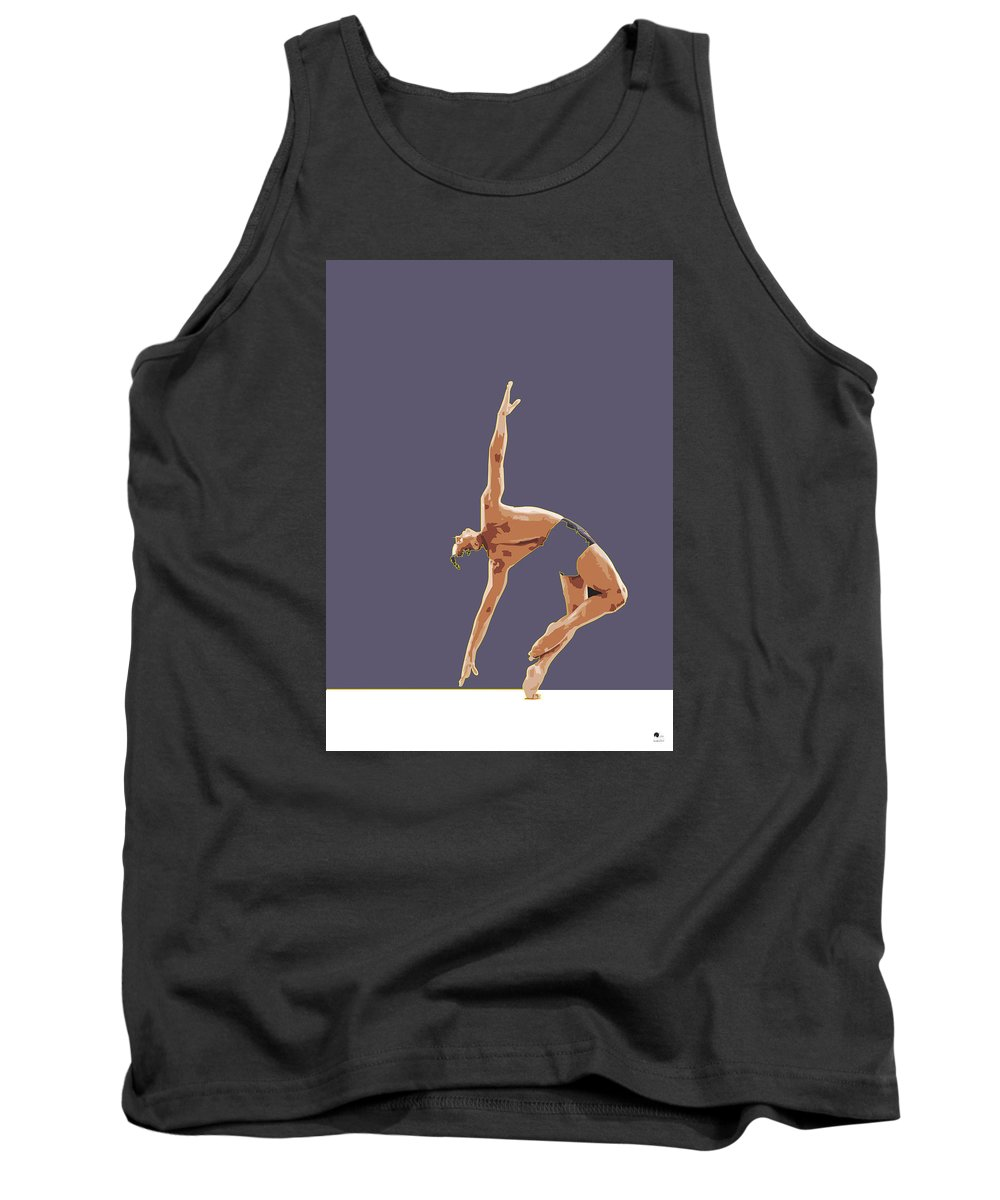 Classical Tank Top featuring the digital art Classical Ballet Dancer by Joaquin Abella
