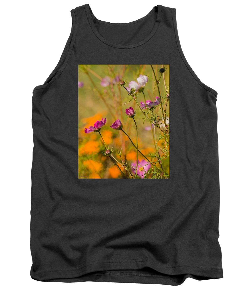 Tank Top featuring the photograph Clear Center by Amy S Klein