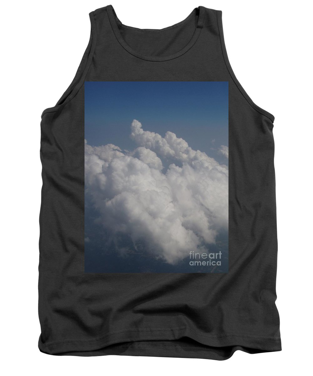 Clouds Tank Top featuring the photograph Cloud Depth II by Deborah Crew-Johnson