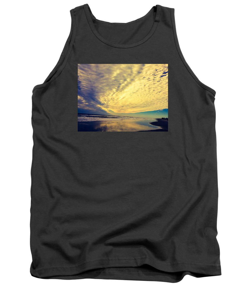 Sky Tank Top featuring the photograph Cloud Gazing. . by Lewis Gilbert