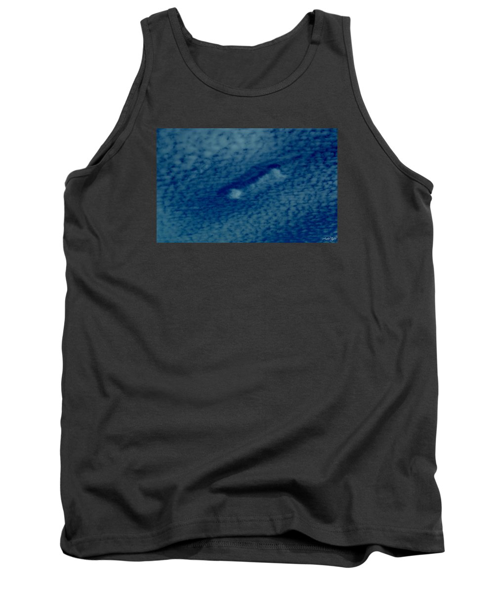 Sky Punch Tank Top featuring the photograph Cloud Interrupted by Amber Taylor