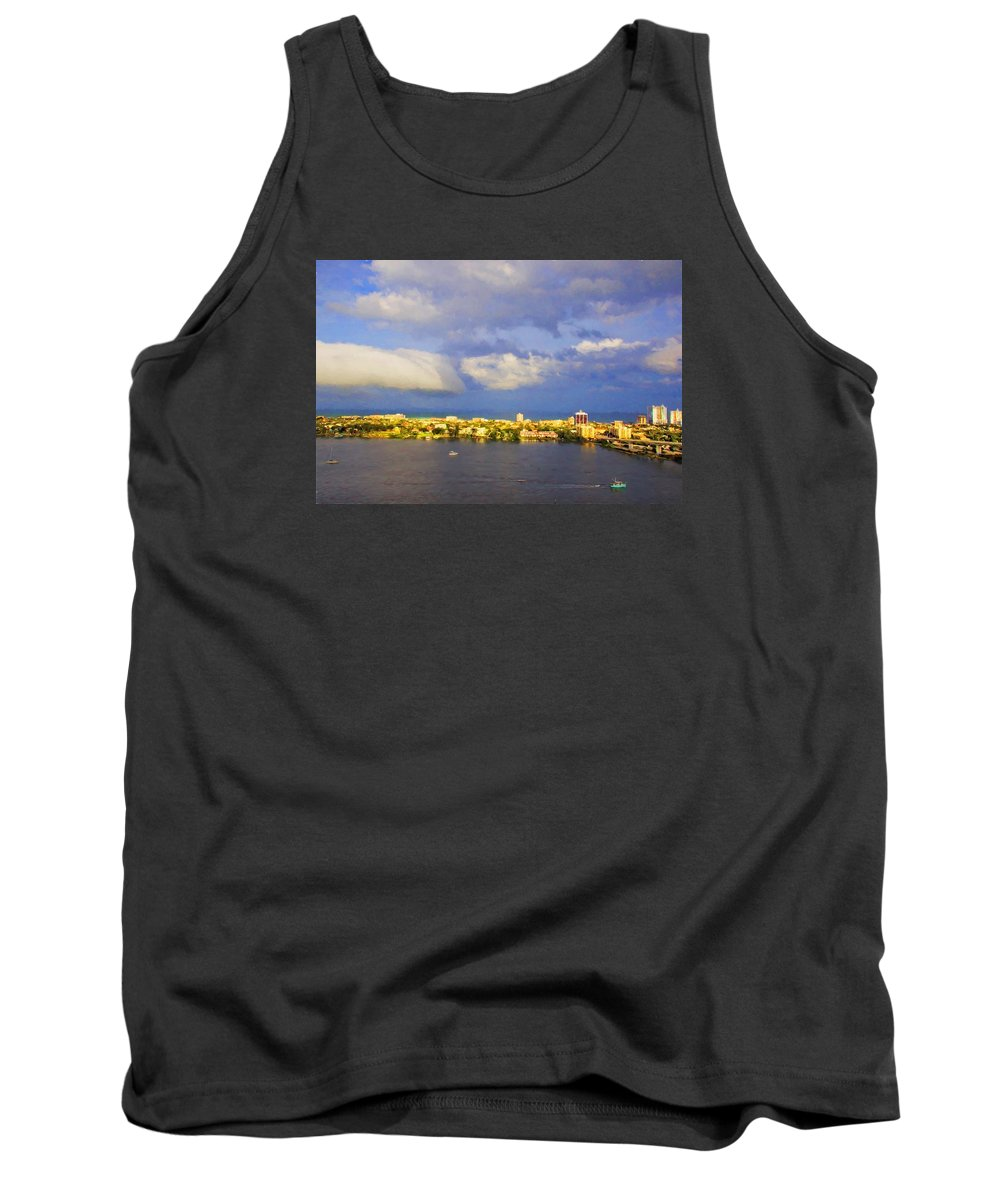 Alicegipsonphotographs Tank Top featuring the photograph Cloud Shelf by Alice Gipson