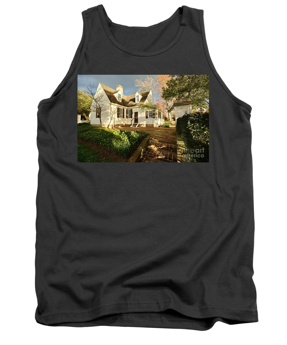 House Tank Top featuring the photograph Clouds And Light by Rachel Morrison