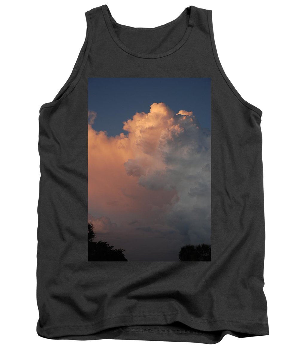 Clouds Tank Top featuring the photograph Clouds And More Clouds by Rob Hans