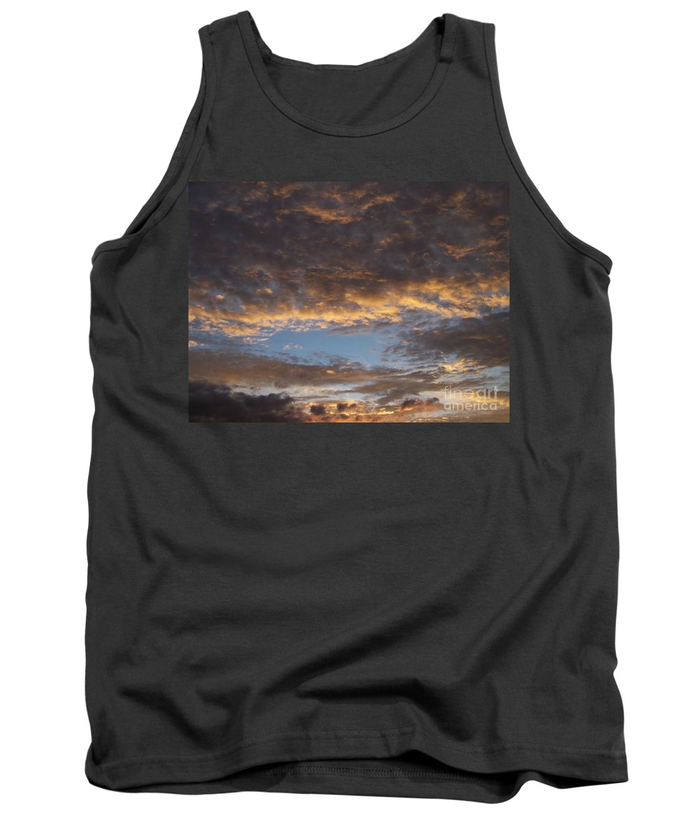Clouds Tank Top featuring the photograph Clouds by Brian Commerford