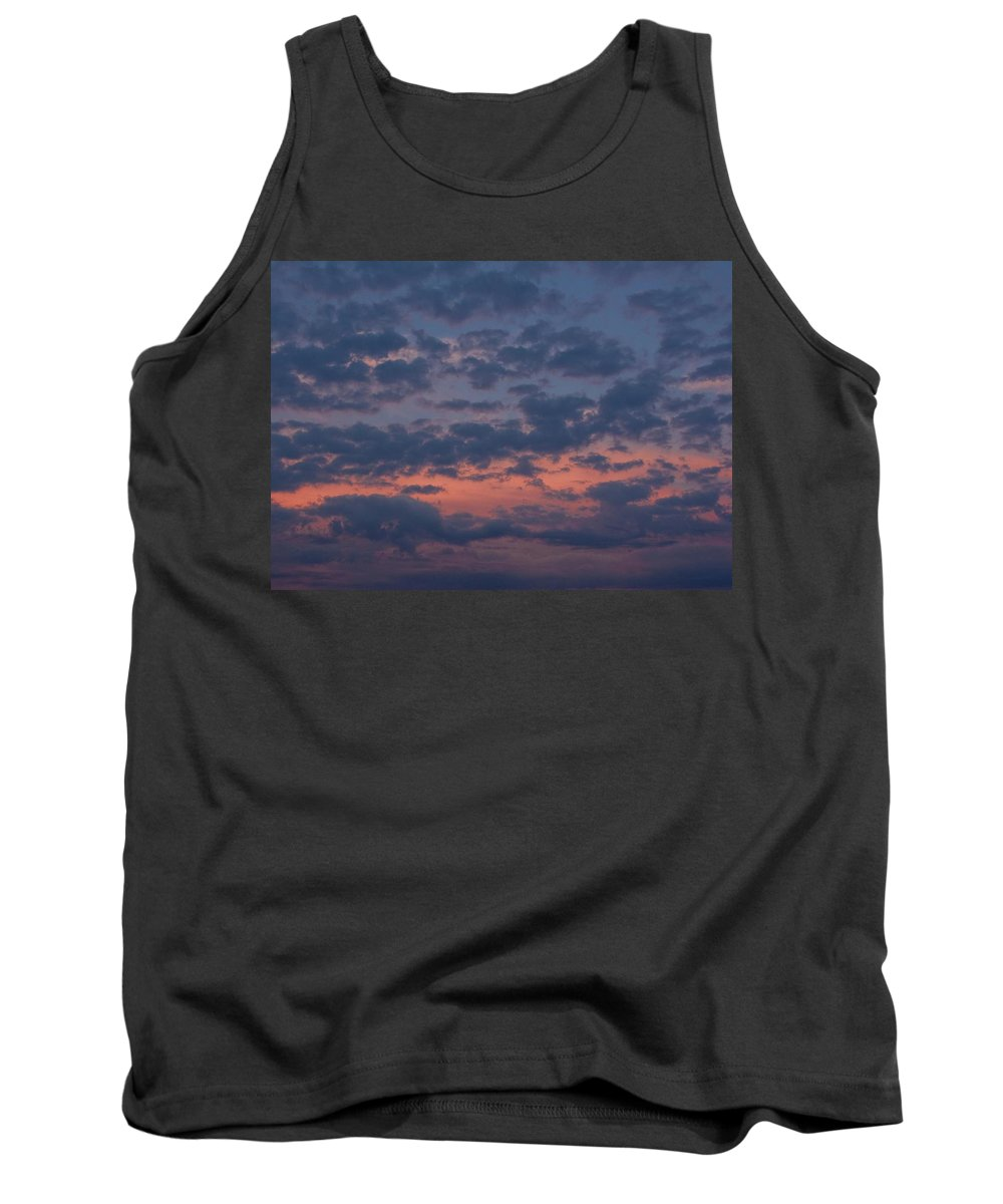 Rhode Island Tank Top featuring the photograph Clouds by Steven Natanson