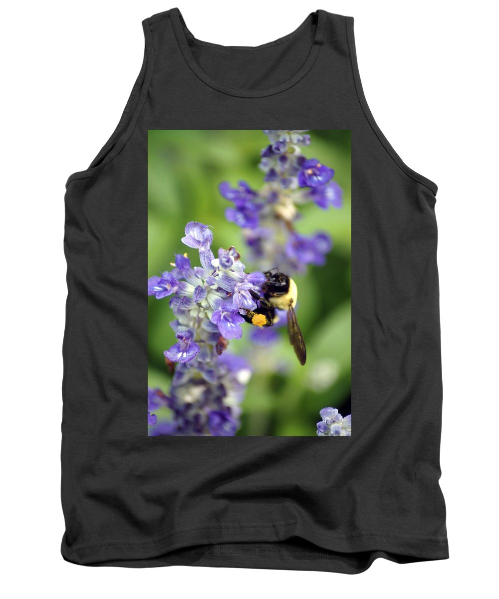 Flowers Tank Top featuring the photograph Collection Of Pollen by Donna Bentley