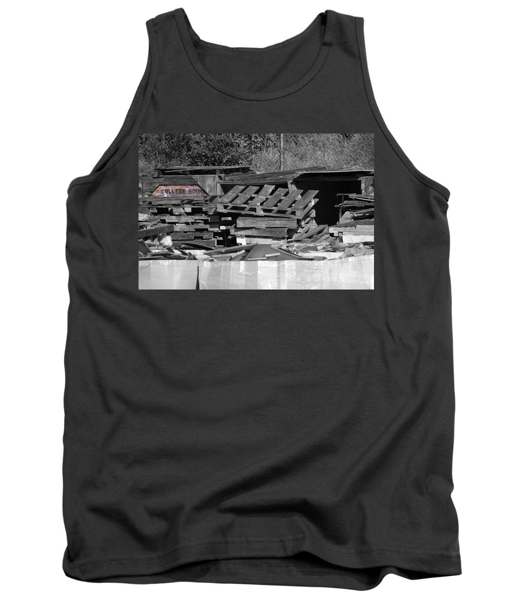 College Tank Top featuring the photograph College Bound by Gary Adkins