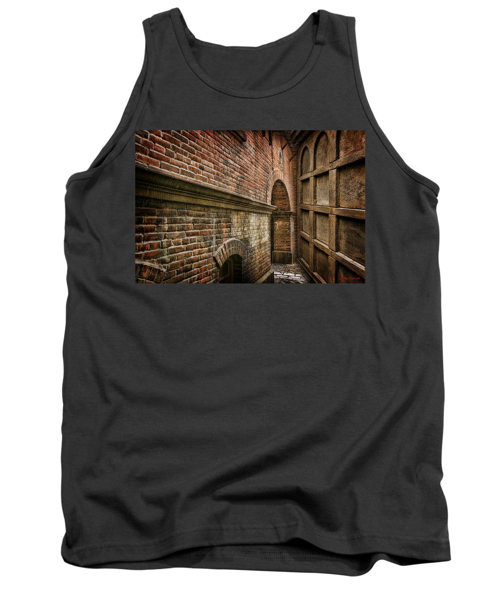 Tank Top featuring the photograph Colliding Walls by Blake Richards