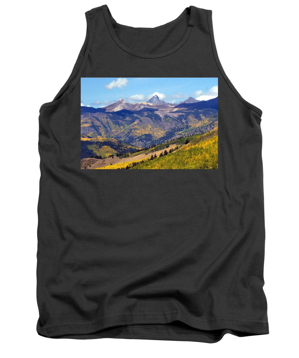 Mountains Tank Top featuring the photograph Colorado Mountains 1 by Marty Koch