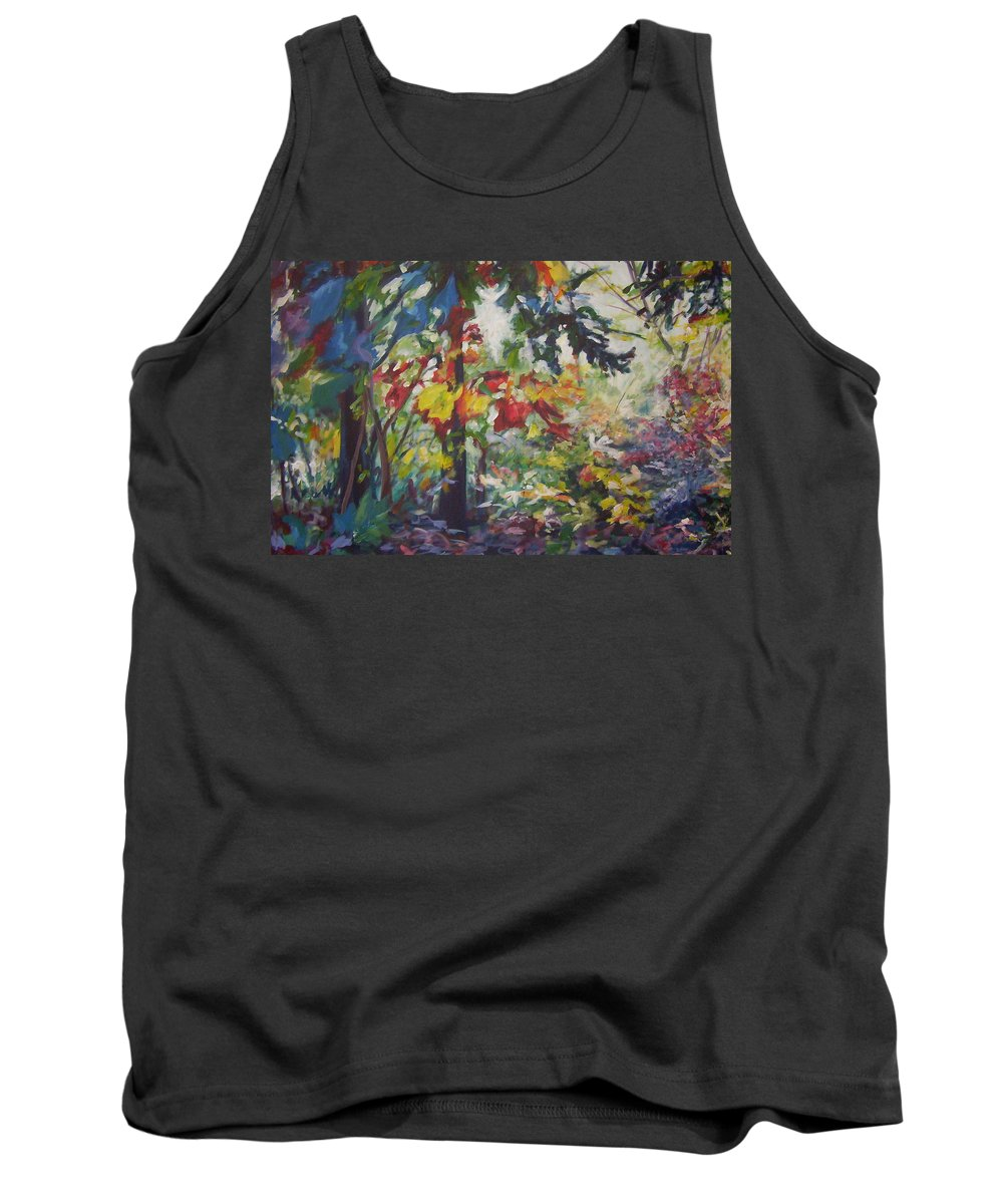 Landscape Tank Top featuring the painting Colorblind by Sheila Holland