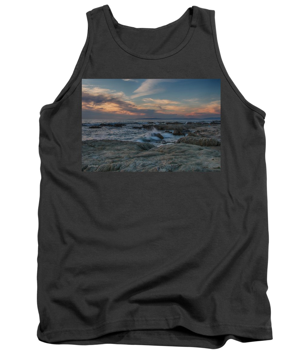 Asilomar Tank Top featuring the photograph Colorful Evening Sky by Bill Roberts
