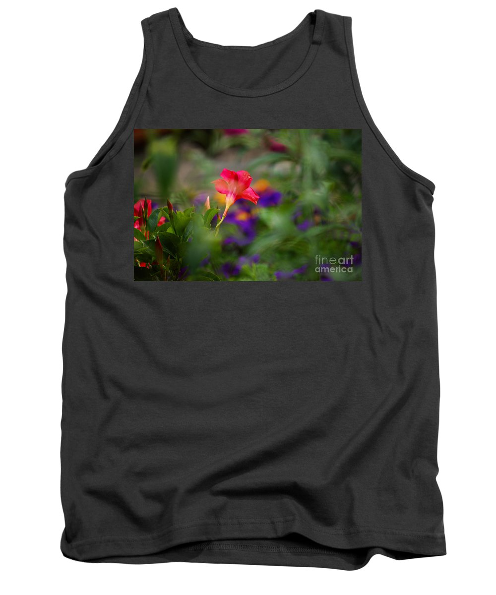 Flowers Tank Top featuring the photograph Colors Of Spring by Lori Tambakis