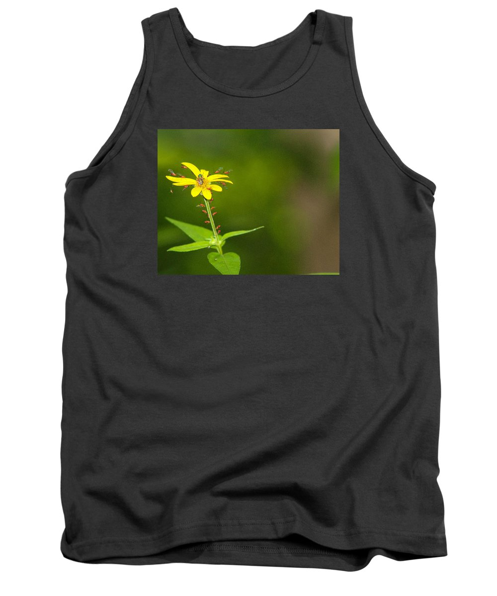 Flower Tank Top featuring the photograph Come One, Come All by Jessica Fronabarger