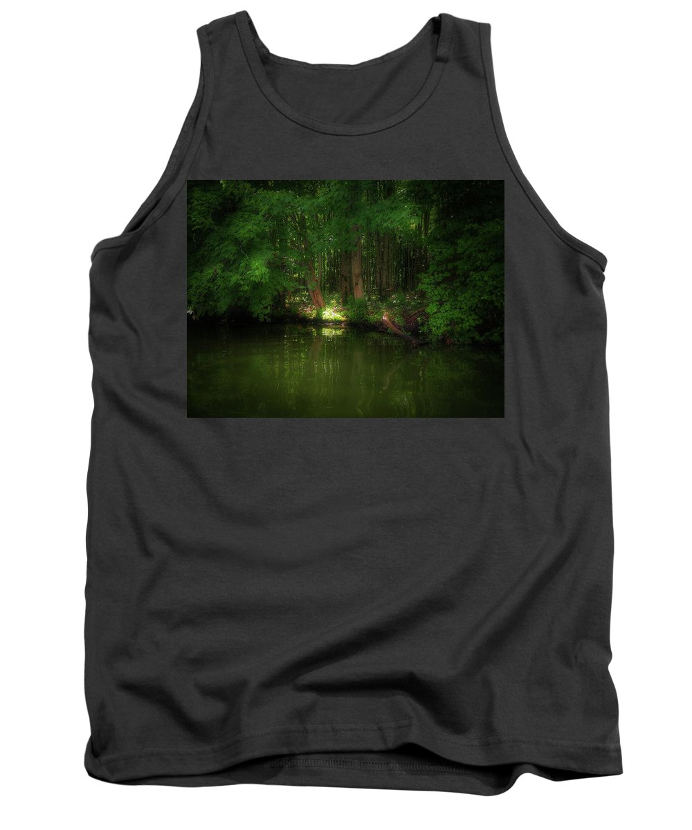 Landscape Tank Top featuring the photograph Comfort 1 by Shelley Smith