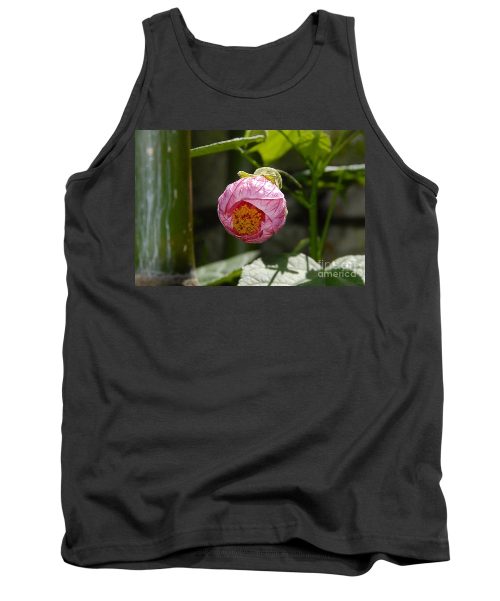 Flower Tank Top featuring the photograph Coming Out by David Lee Thompson