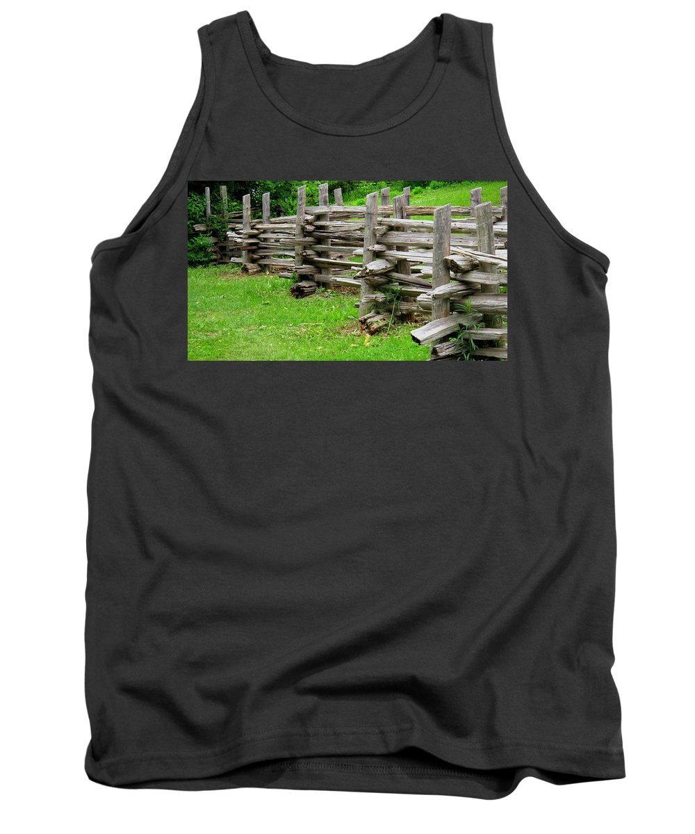 Split Tank Top featuring the photograph Complex Pattern by Ian MacDonald