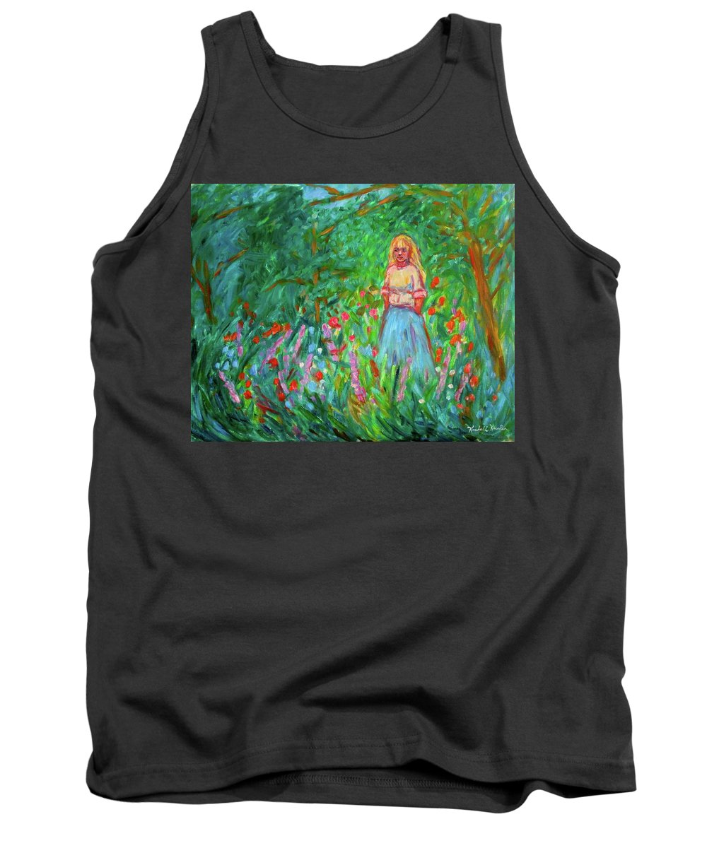 Landscape Tank Top featuring the painting Contemplation by Kendall Kessler