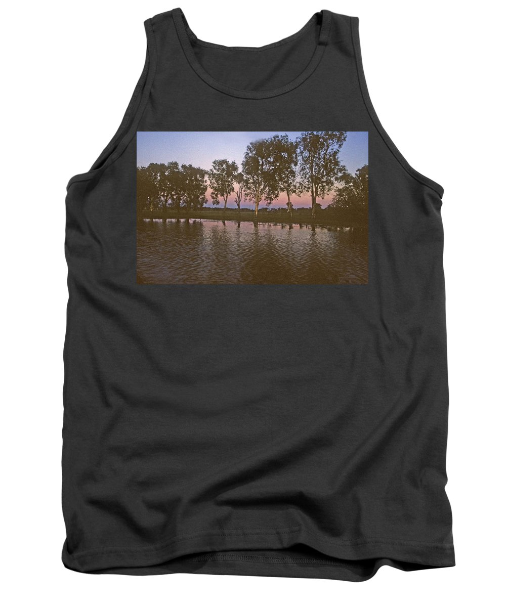 Cooinda Tank Top featuring the photograph Cooinda Northern Territory Australia by Gary Wonning