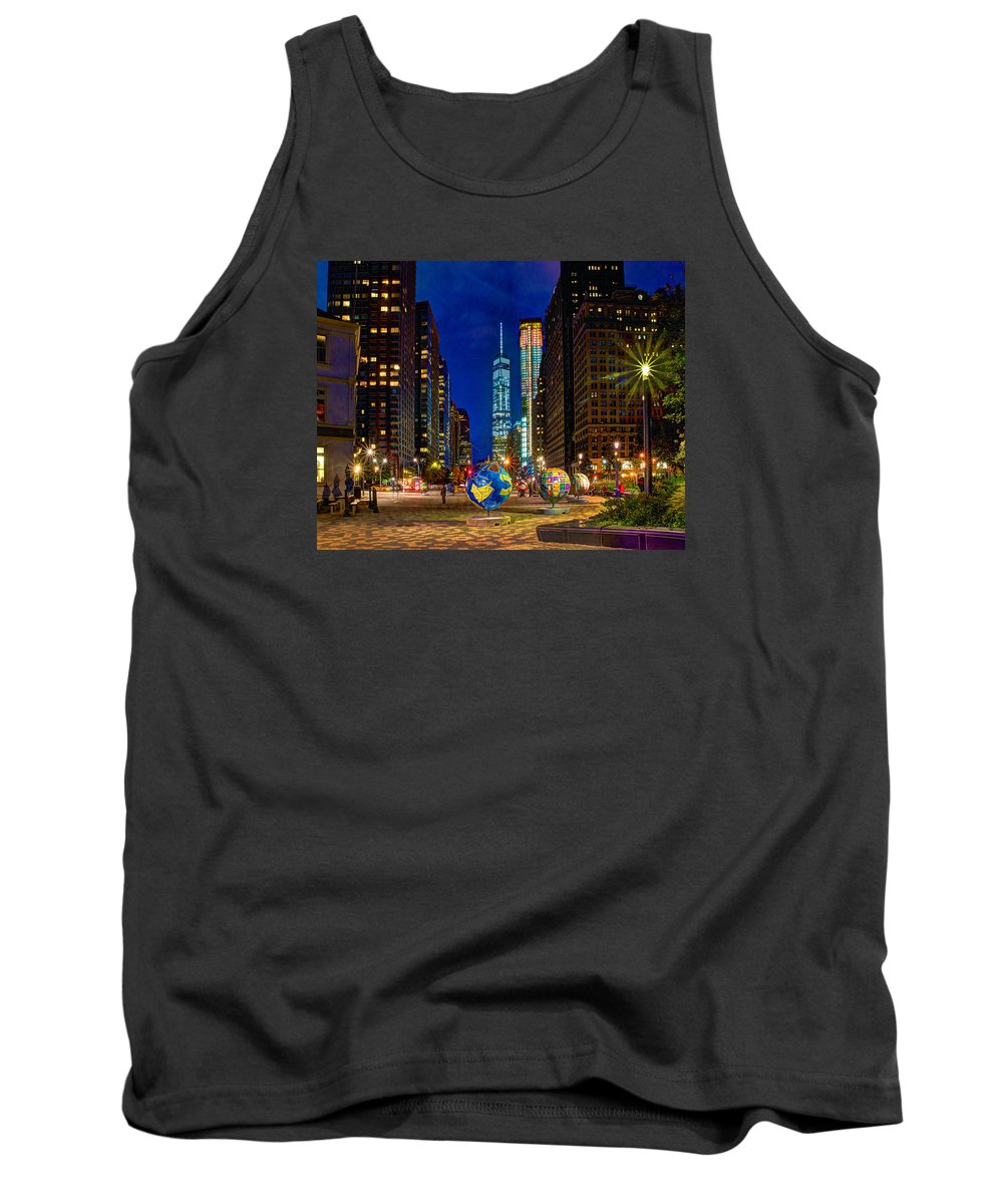 Cool Globes Tank Top featuring the photograph Cool Globes by Jeff Stallard
