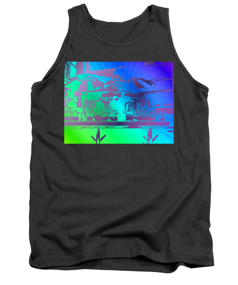 Seattle Tank Top featuring the photograph Copacabana by Tim Allen