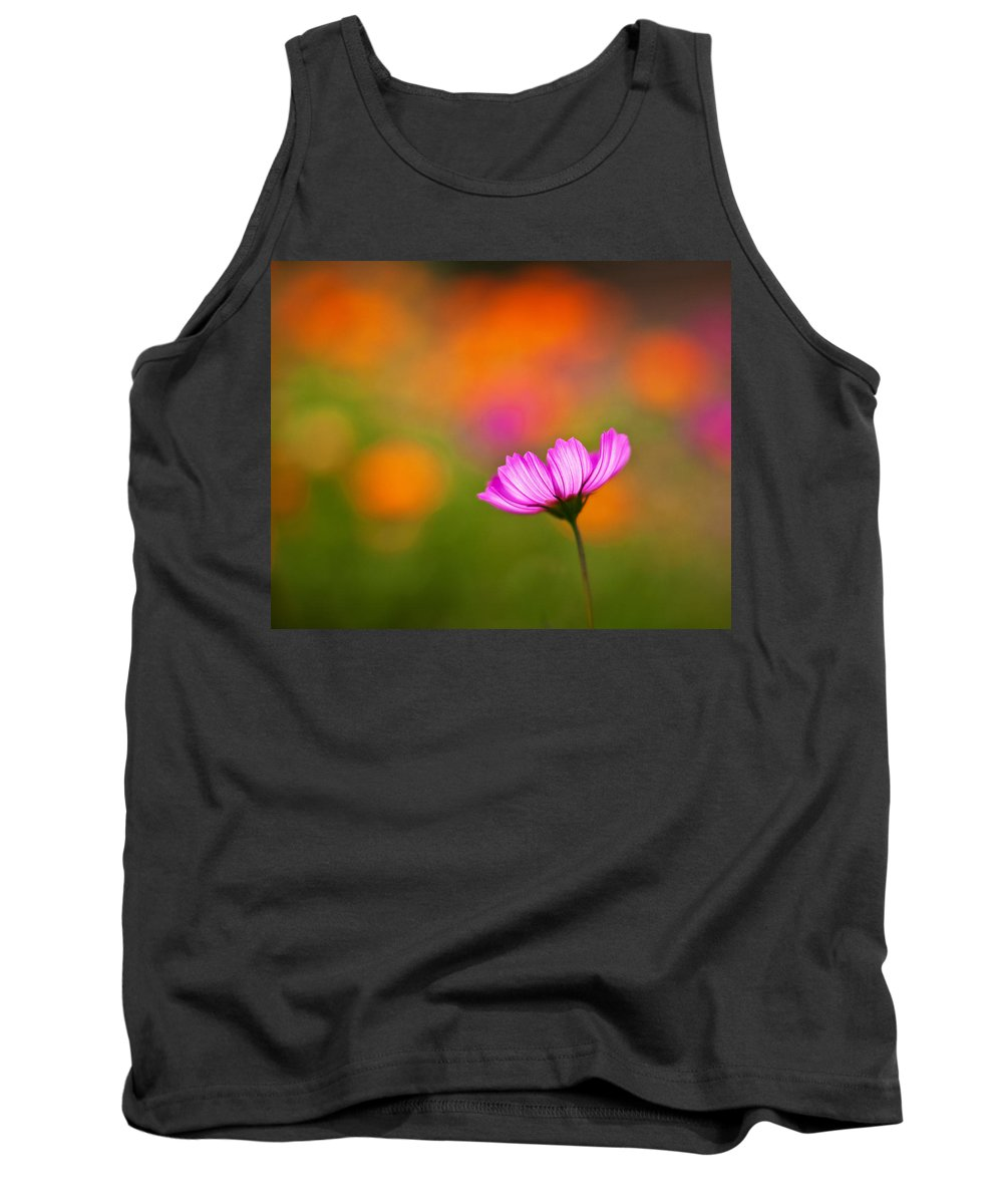 Cosmo Tank Top featuring the photograph Cosmo Pastels by Mike Reid