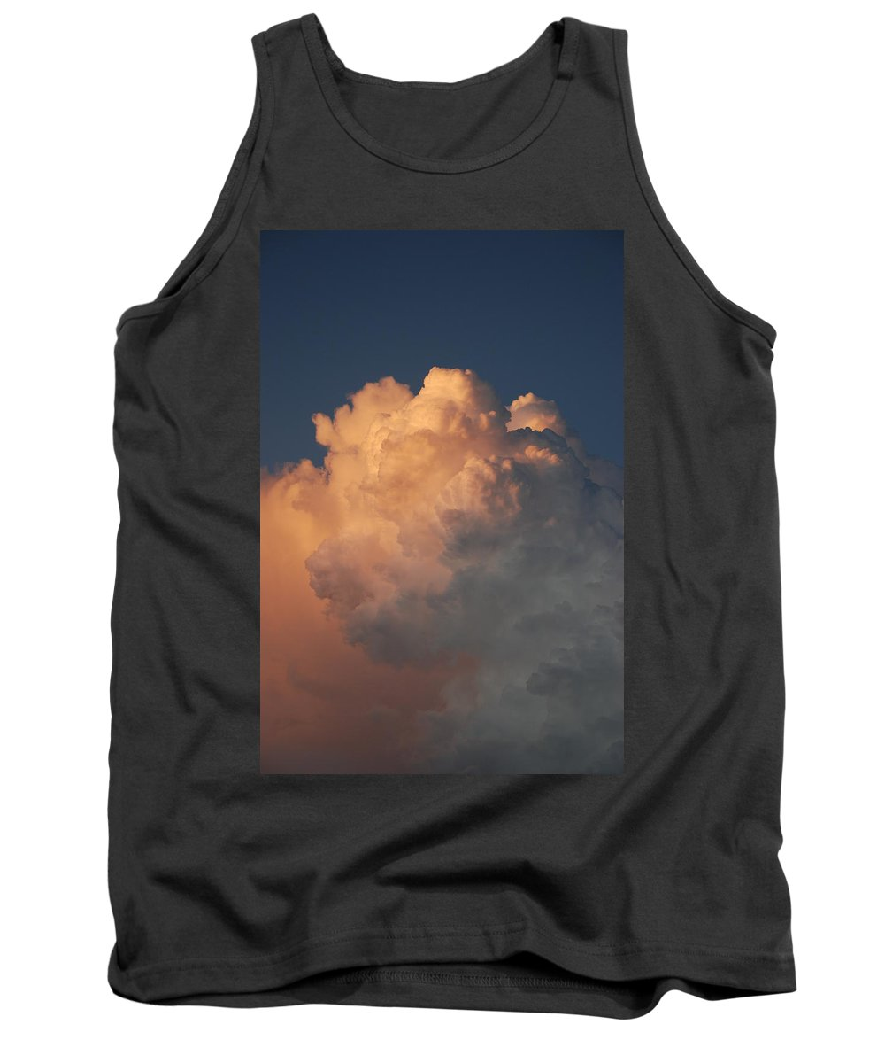 Clouds Tank Top featuring the photograph Cottonballs by Rob Hans