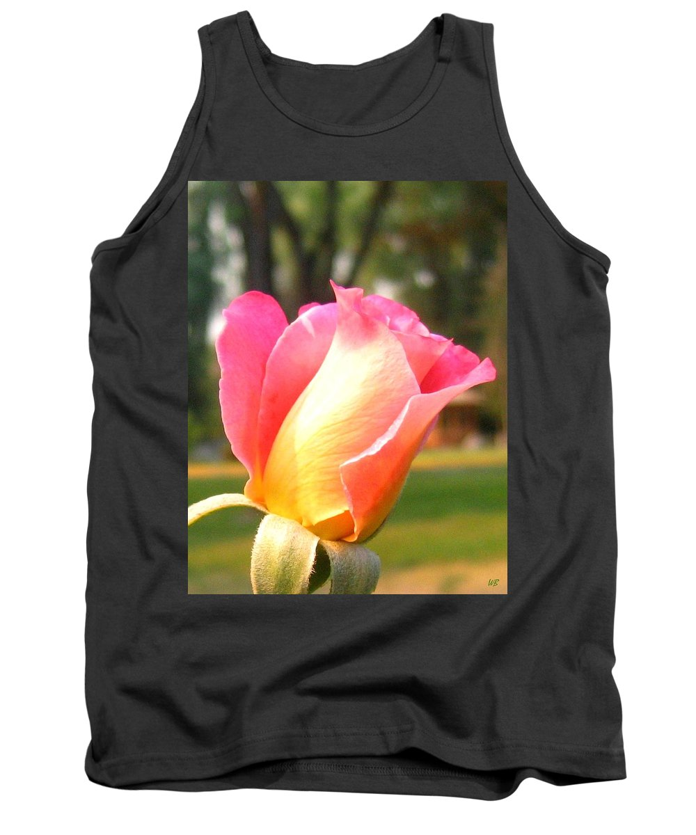 Rose Tank Top featuring the photograph Country Rose by Will Borden