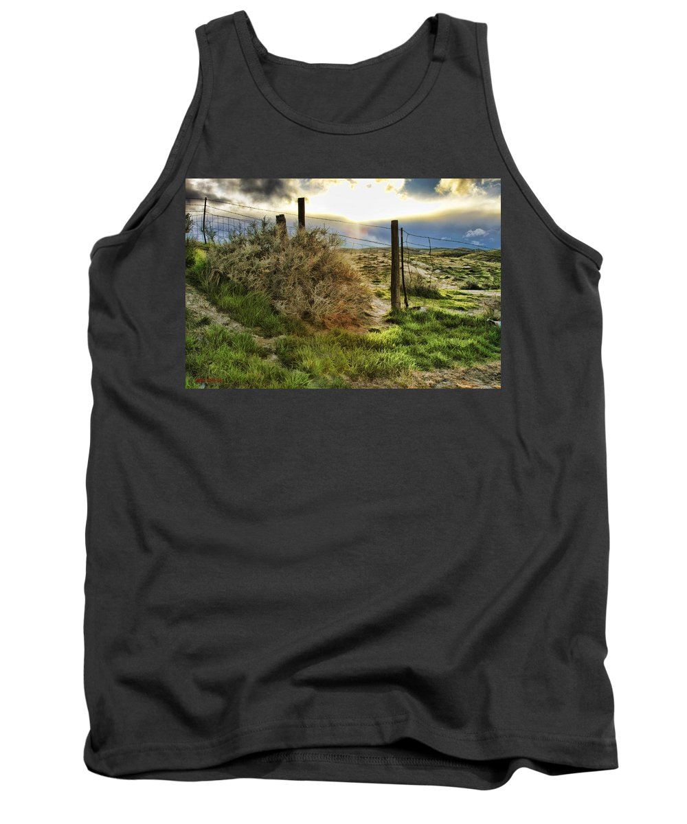 Tank Top featuring the photograph Countryside Sunset by Blake Richards