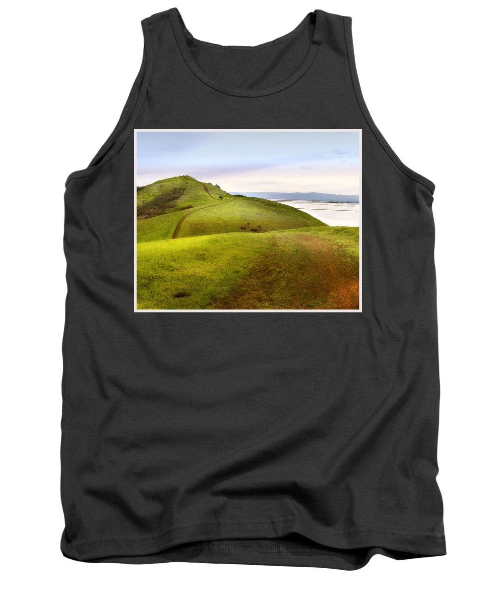 Landscape Tank Top featuring the photograph Coyote Hills by Karen W Meyer
