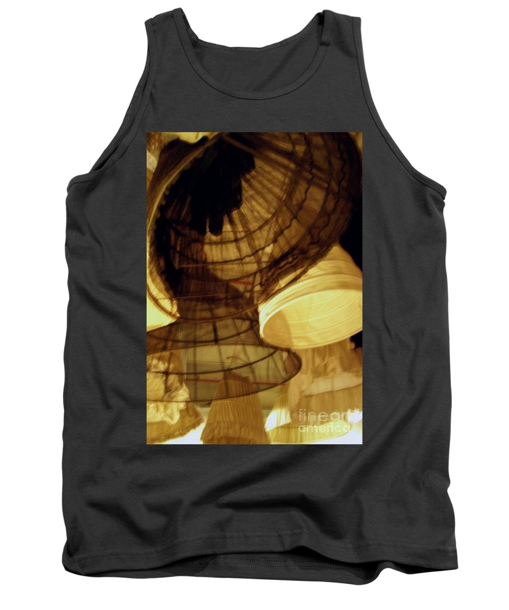 Theatre Tank Top featuring the photograph Crinolines by Ze DaLuz