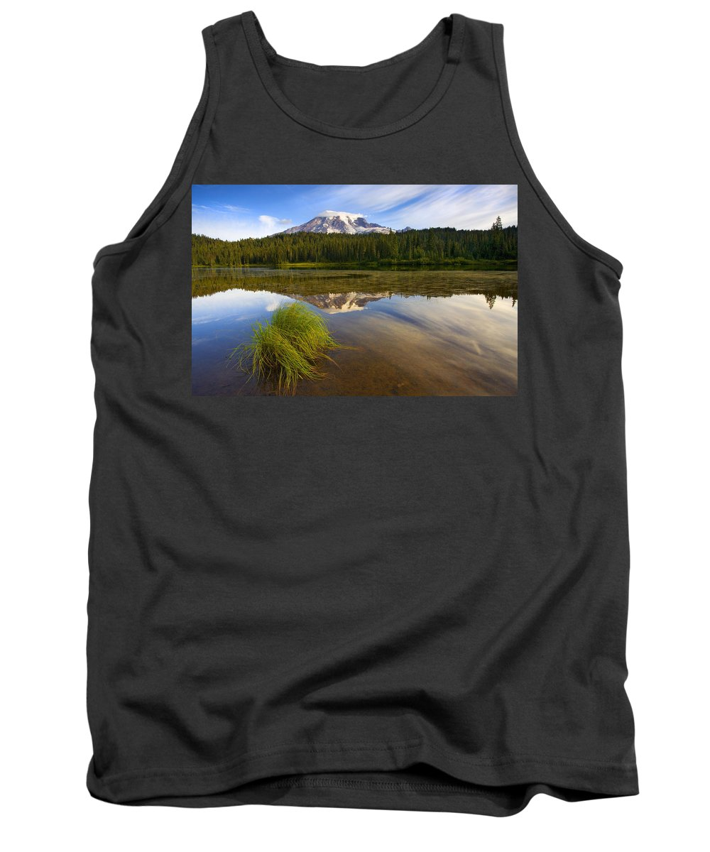 Lake Tank Top featuring the photograph Crystal Clear by Mike Dawson