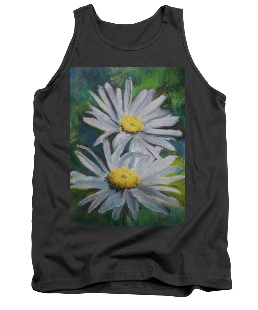 Daisies Tank Top featuring the painting Daisies by Melinda Etzold