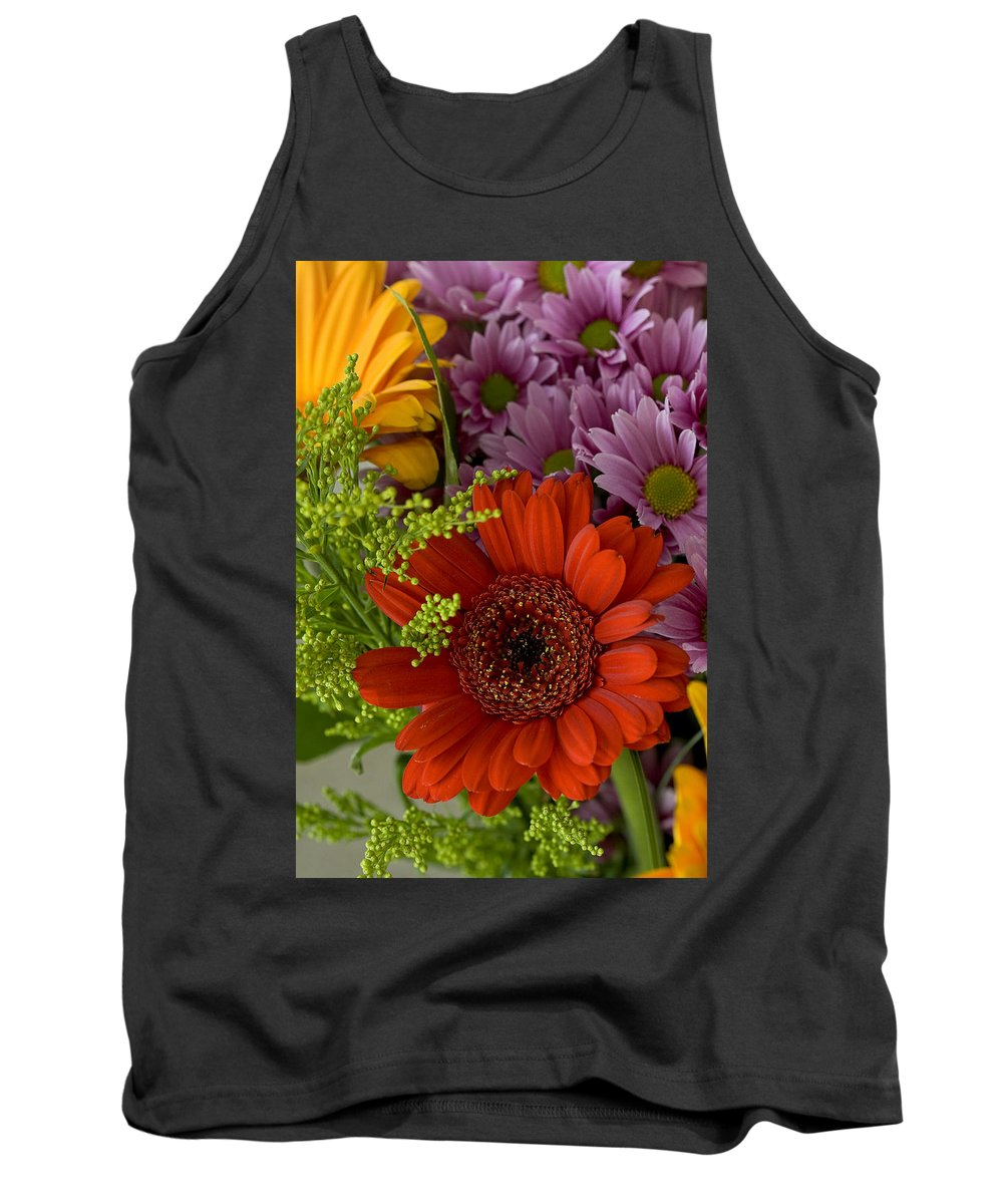 Bouquet Tank Top featuring the photograph Daisy Bouquet by Phyllis Denton