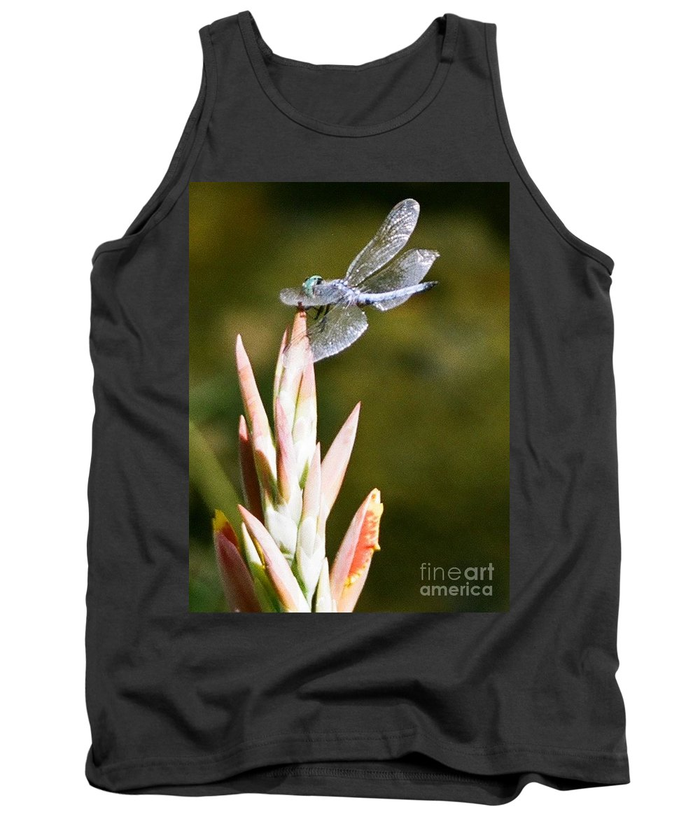 Dragonfly Tank Top featuring the photograph Damselfly by Dean Triolo