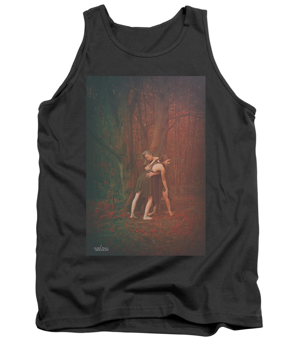 People Tank Top featuring the photograph Dance Of The Mother And The Maiden by Jason Hermann