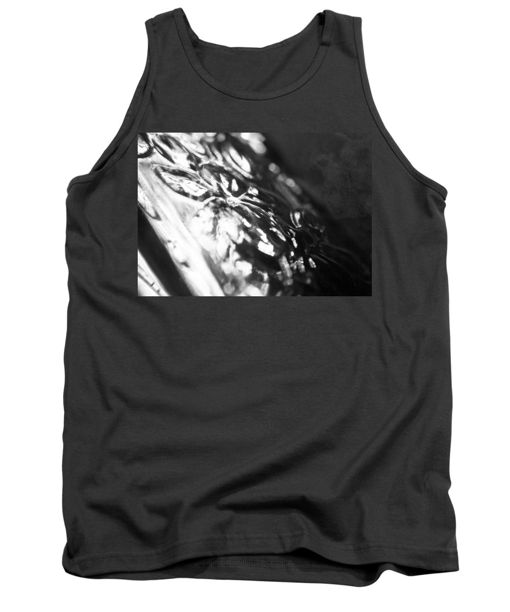 Dark Tank Top featuring the photograph Dark Glass by Alex Art and Photo