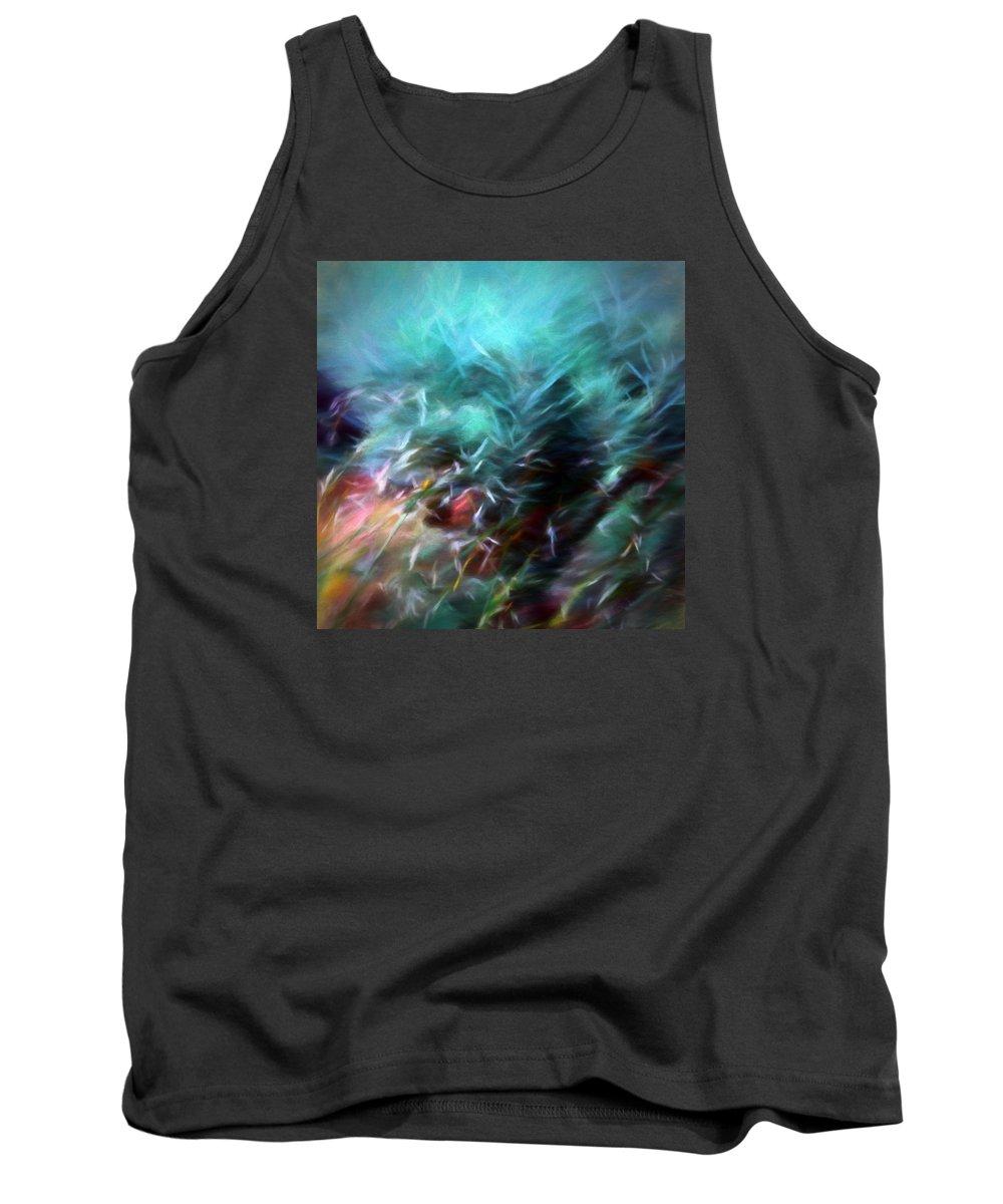sheryl Karas Tank Top featuring the photograph Dawn Of Creation by Sheryl Karas