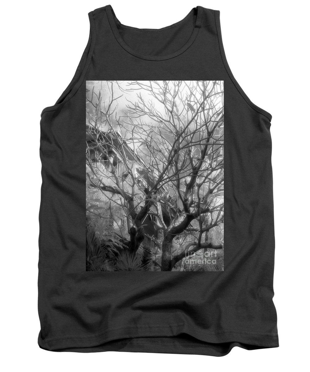 Infrared Photography Tank Top featuring the photograph Day Dream by Richard Rizzo
