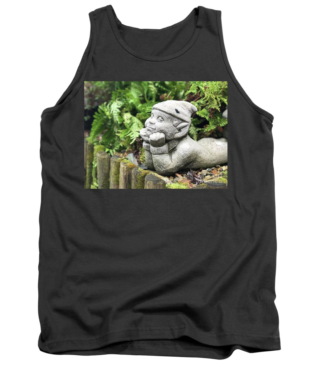 Garden Tank Top featuring the photograph Daydreaming by Theo Tucker