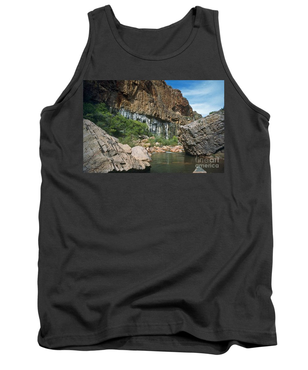 Landscape Tank Top featuring the photograph Deep Water by Kathy McClure