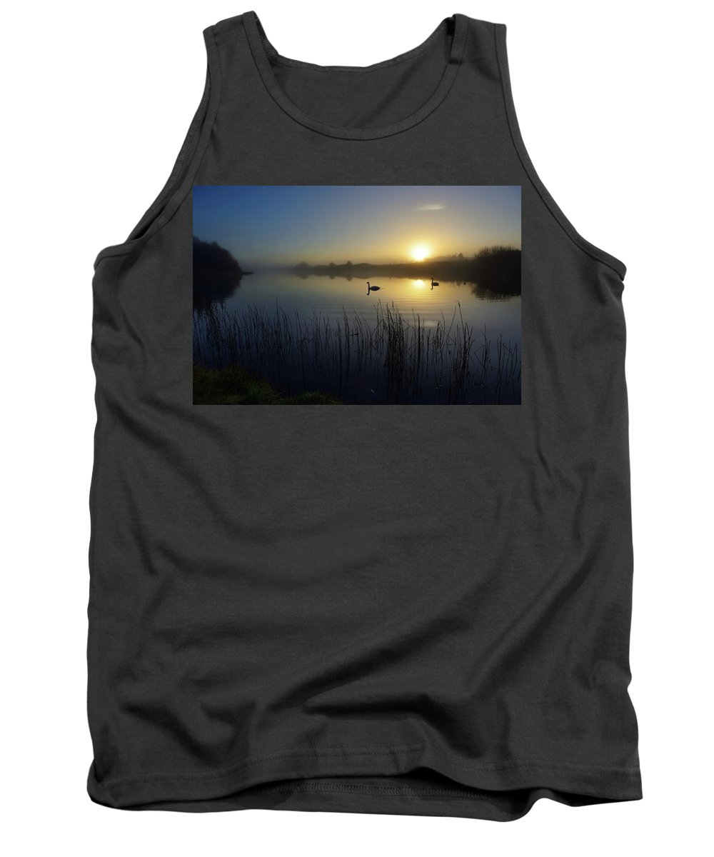 Delta Lakes Tank Top featuring the photograph Delta Lakes by Phil Fitzsimmons